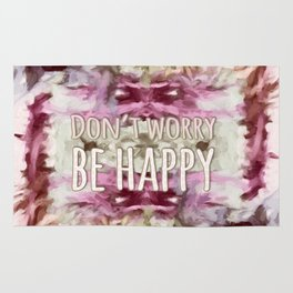 Don't Worry, Be Happy! Rug