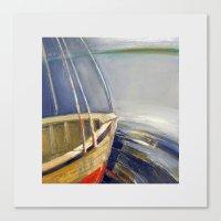 skyline Canvas Prints featuring Skyline by Vilnis Klints