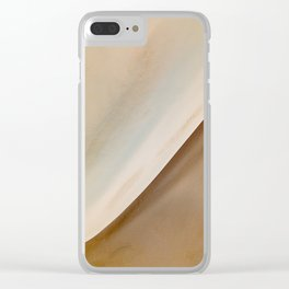 Albany Sand Dunes Clear iPhone Case