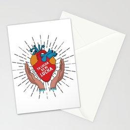 Tu Lucha Es Mi Lucha (Open Hands) Stationery Cards
