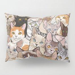A lot of Cats Pillow Sham