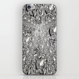 My brain is full of iPhone Skin