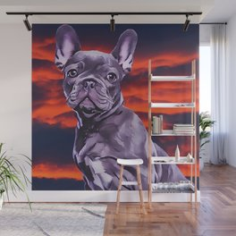Frenchie The French Bulldog Wall Mural