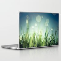grass Laptop & iPad Skins featuring Grass  by Koka Koala