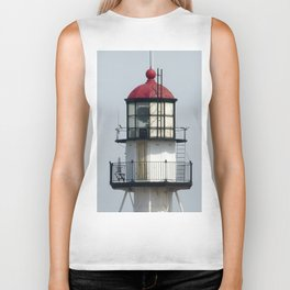 Whitefish Point Lighthouse Tower Biker Tank