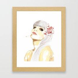 Out-Portrait Framed Art Print