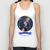 league of legends Tank Tops featuring League Of Legends - Janna by TheDrawingDuo