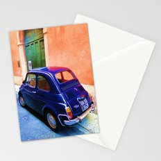 Blue Car 2 Stationery Cards