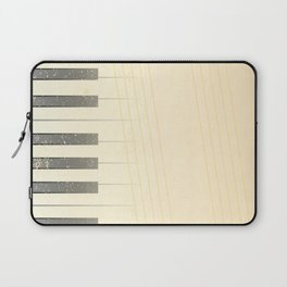 Antique Piano Background Laptop Sleeve