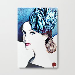 christina hendricks Metal Print