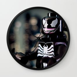 The Symbiote Wall Clock
