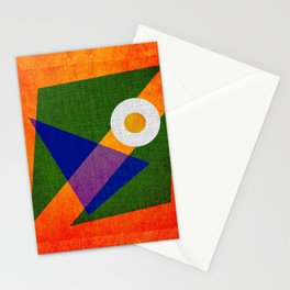 Abstract pattern Contemporary Stationery Cards