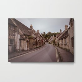 little quiet village Metal Print