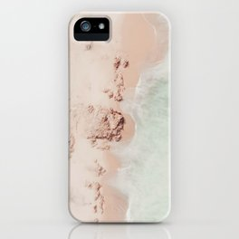 beach - pink champagne iPhone Case