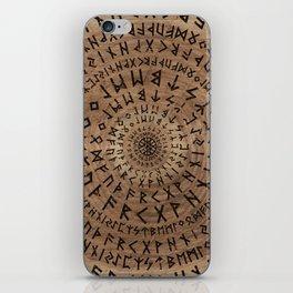 Elder Futhark Circular Composition iPhone Skin