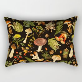 Vintage & Shabby Chic - Autumn Harvest Black Rectangular Pillow