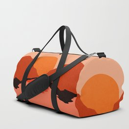 Abstraction_Sunset_Mountains_001 Duffle Bag