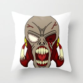 Horror of the Dead Throw Pillow