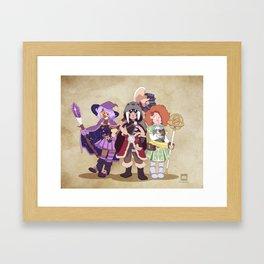 D&D Girls Framed Art Print