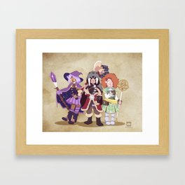 D&D Girls Framed Art Print