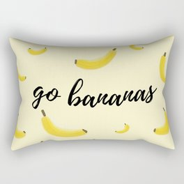 Go Bananas Rectangular Pillow