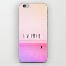 Wild and Free iPhone Skin