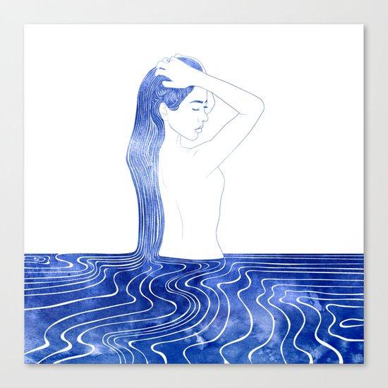 Nereid VII Canvas Print