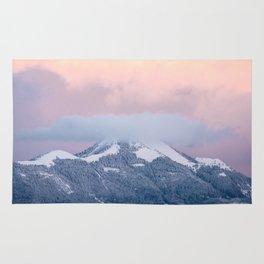 pastel landscape Rug