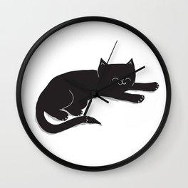 Happy Kitty Wall Clock