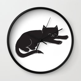 Happy Kitty Wall Clock