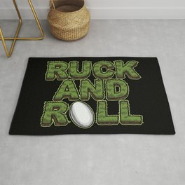 Ruck And Roll - Rugby Attitude Rug