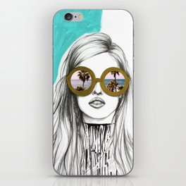 Holiday vibes only iPhone Skin