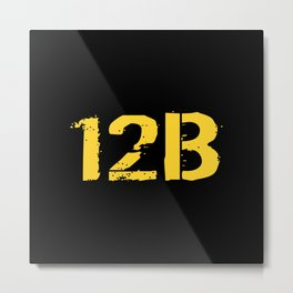 12B Combat Engineer Metal Print