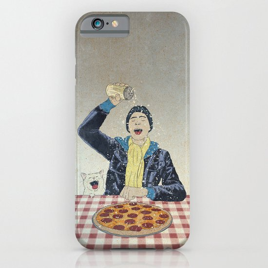 Make it snow... on my PIZZA! iPhone & iPod Case