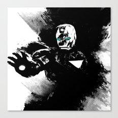 Iron Man: Shadow Edition  Canvas Print