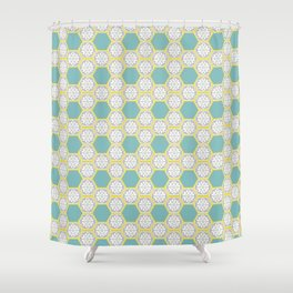Altıgen Shower Curtain