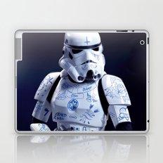 Tattooed Trooper Laptop & iPad Skin