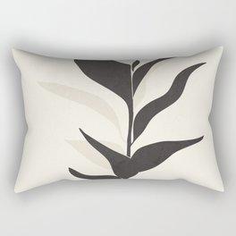 Abstract Minimal Plant Rectangular Pillow