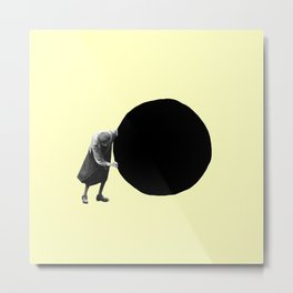 Imperfect Headspace Metal Print