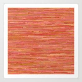 Series 7 - Tangerine Art Print