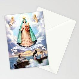 Virgen de N.S. de La Caridad del Cobre (Patrona de de la Isla de Cuba) Stationery Cards
