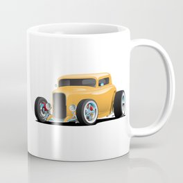 Classic American 32 Hotrod Car Illustration Coffee Mug