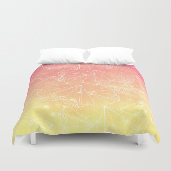 A heart is made of ... wishes Duvet Cover