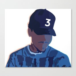 Coloring Book - Chance the Rapper Canvas Print