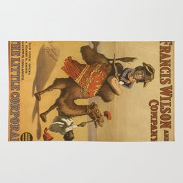 Vintage poster - The Little Corporal Rug