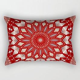 Ancestors (Red) Rectangular Pillow