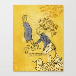 Modesto! Hiccup Canvas Print
