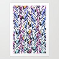 Ripcurl Dazzle light Art Print