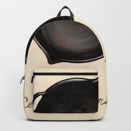 Ceci n'est pas una poele Backpack