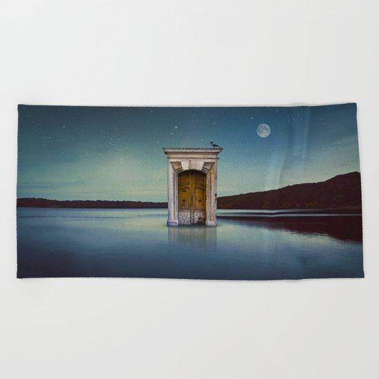 River Door Beach Towel